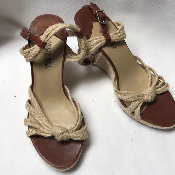 c4871e3c0c5f MICHAEL Michael Kors Shoes - Michael Michael Kirsten wedge sandals